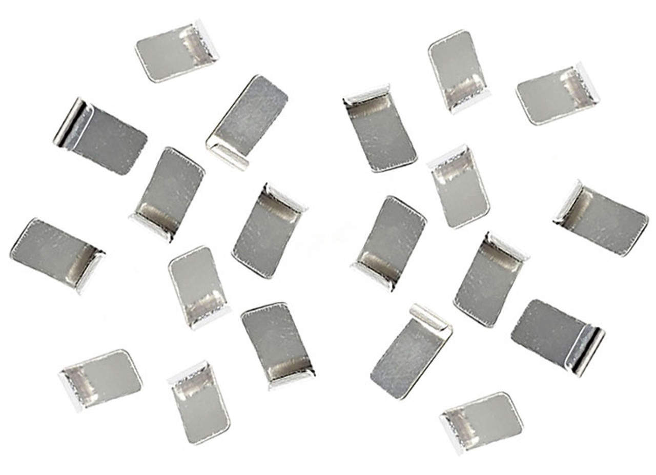 JK Pro Silver Plated Copper Guide Clips - 10 pr Pack - JKU60-10