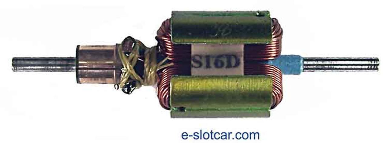 Kelly Handwound Super 16-D Armature - .560 Dia. - 38° - KE-671-38