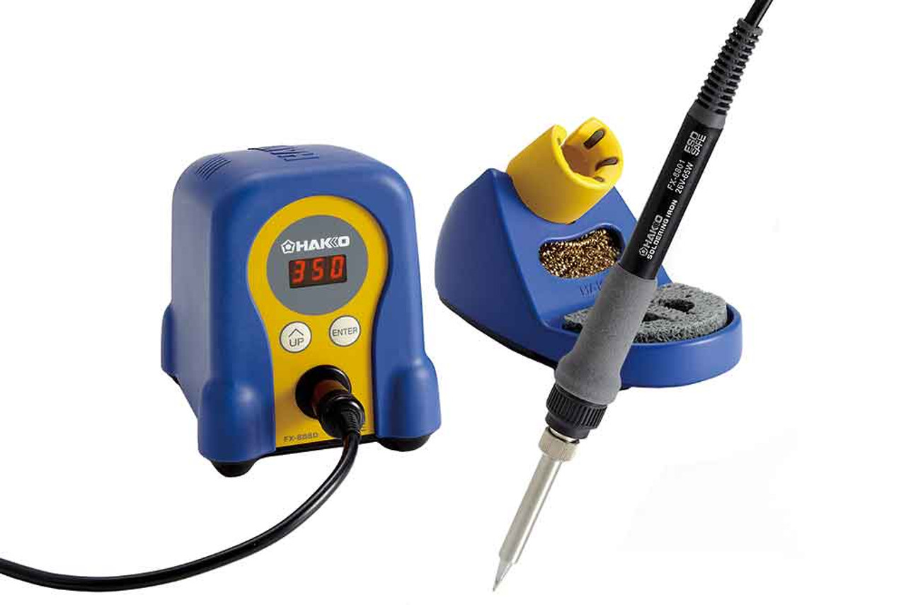 Hakko Iron and Complete Soldering Station - HAK-FX-888D