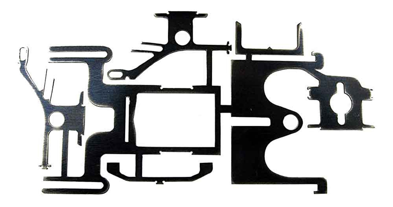 Nap's Hot Slots Small Tire Inline Drag Chassis Kit - NAP-1010
