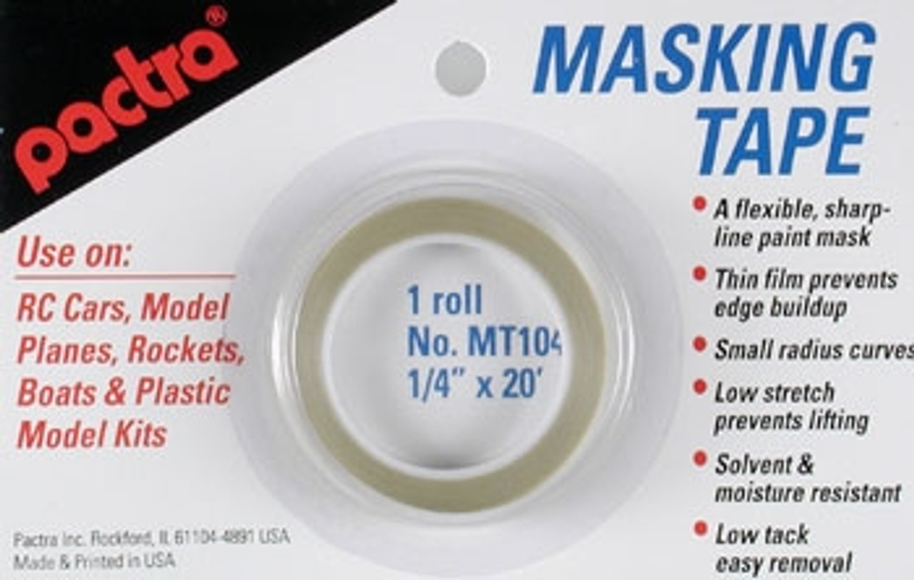 Pactra Masking Tape - PAC-MT104