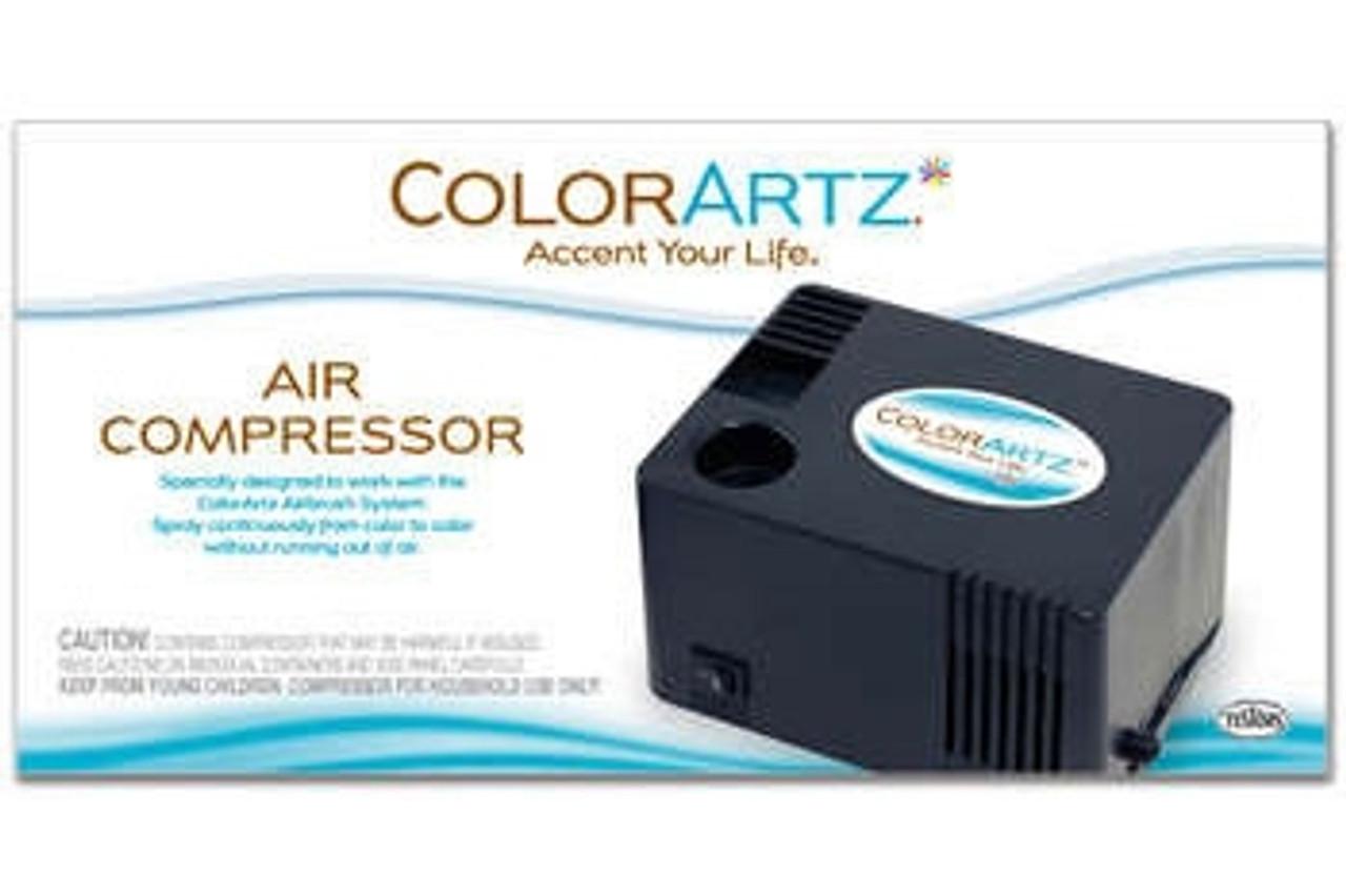 Testors Color ARTZ Air Compressor - TS-9169CF