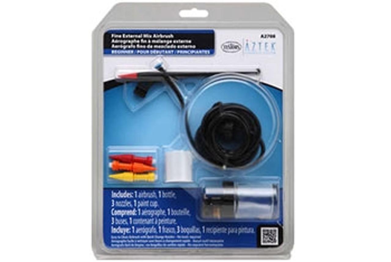 Testors Fine External Mix Airbrush Set - TS-A2708