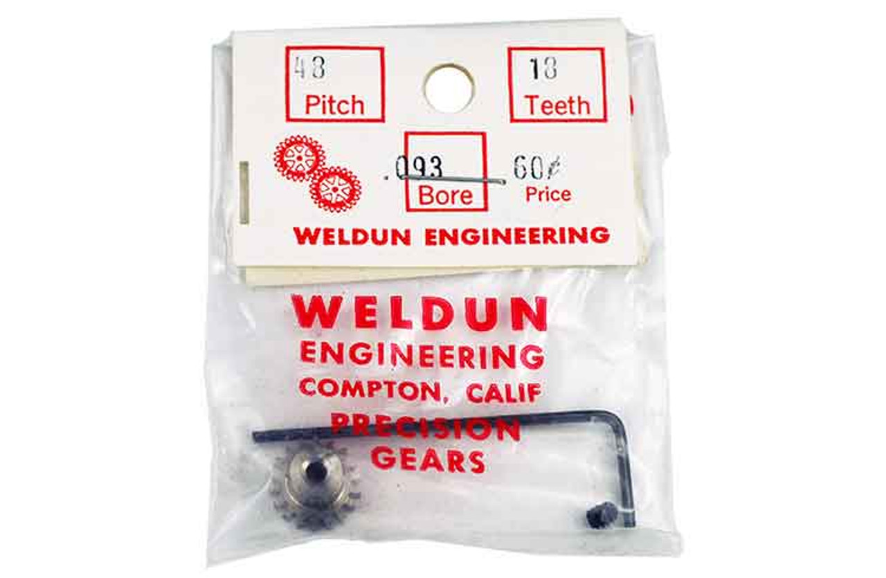 Weldun 18 Tooth Pinion - WLD-4818