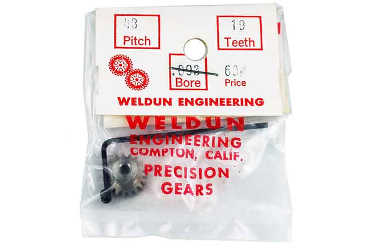 Weldun 19 Tooth Pinion - WLD-4819