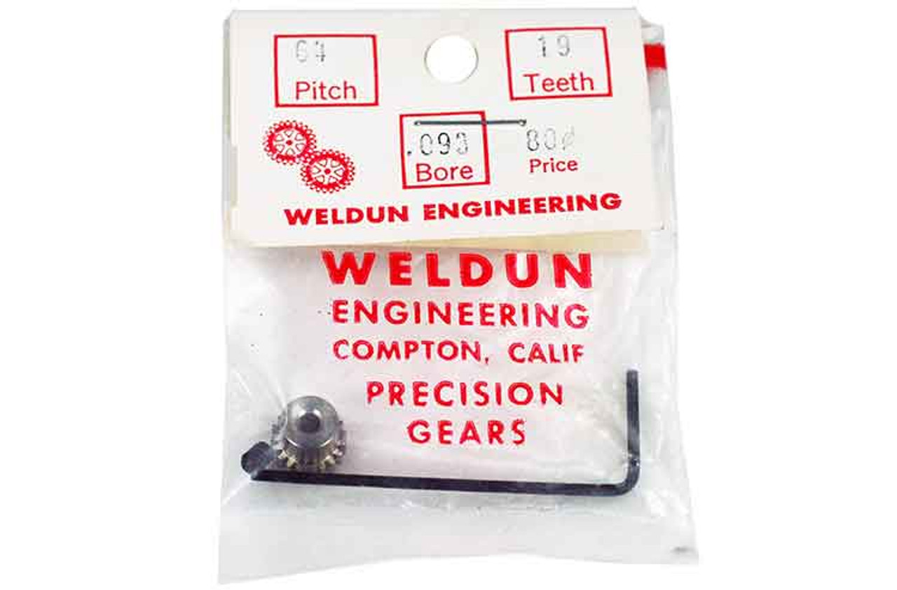 Weldun 19 Tooth Pinion - WLD-6419