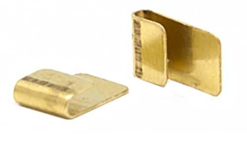 JK Brass Pre-Bent Short Guide Clips - 10 pr Pack - JKU16-10 / JK-3545