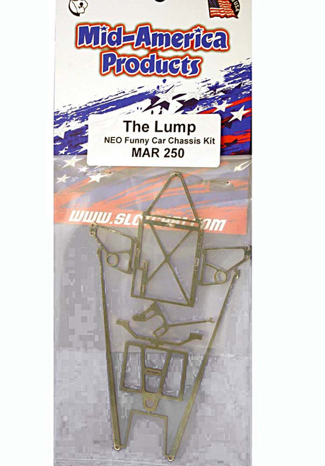"Mid America ""The Lump"" NEO Funny Car Drag Chassis Kit - MAR250"