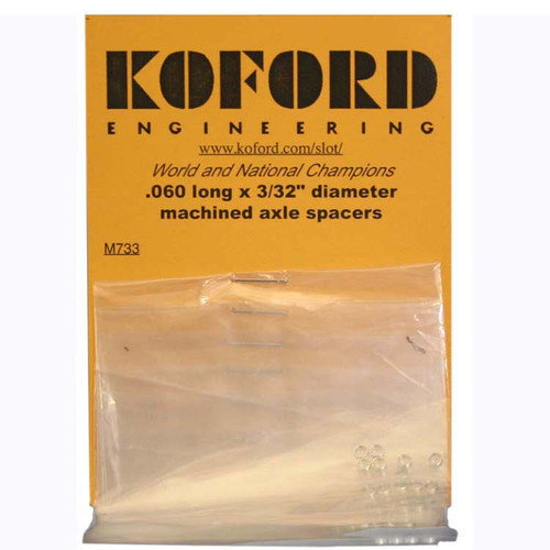 Koford .060 Thick 3/32 Axle Spacers - KOF-M733