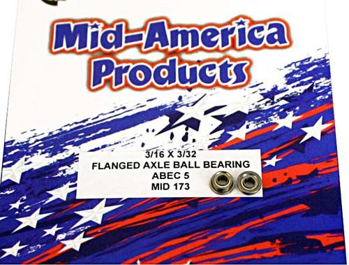 Mid America 3/32 Ball Bearings - MAR173