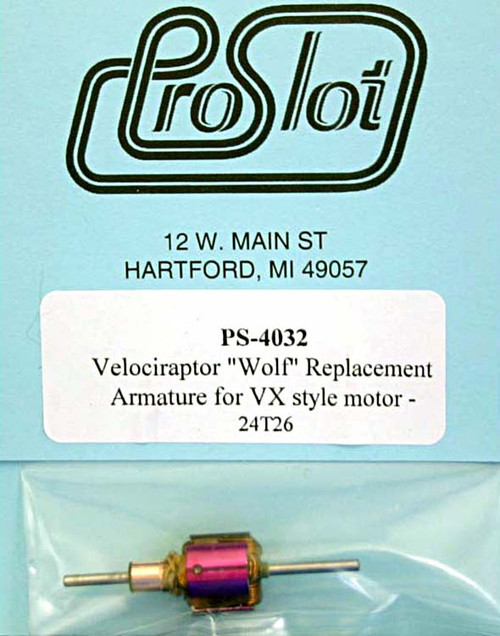 "Proslot ""Wolf"" Replacement Armature for VX Style Motor - PS-4032"