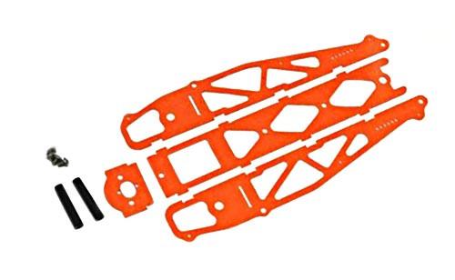 Xtreme Standard Carbon Fiber Drag Chassis - Orange - XR-20027