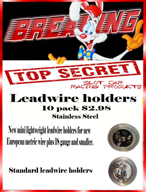 Top Secret Lead Wire Holders  -  10 pack - TS-LWHM