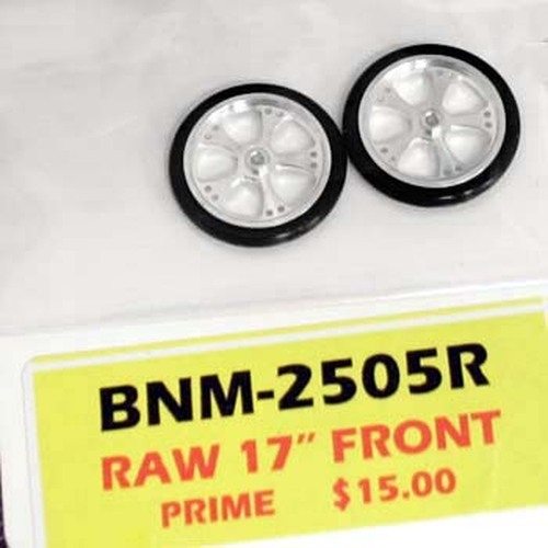 """BNM 1/16"""" x 7/8"""" Scale 17"""" Prime O-Ring Drag Fronts - BNM-2505R"""
