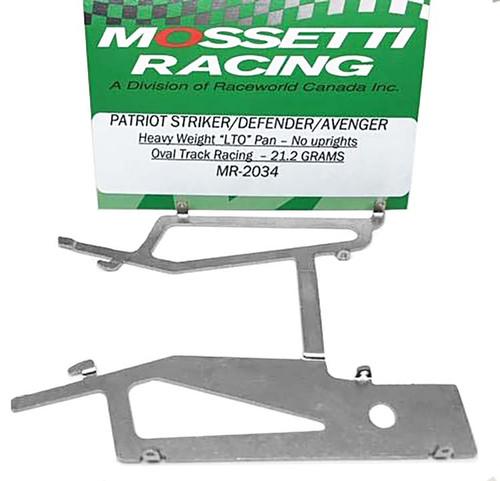 "Mossetti Patriot/Defender/Avenger ""LTO"" Oval Track Pan - Heavy Weight - MR-2034"