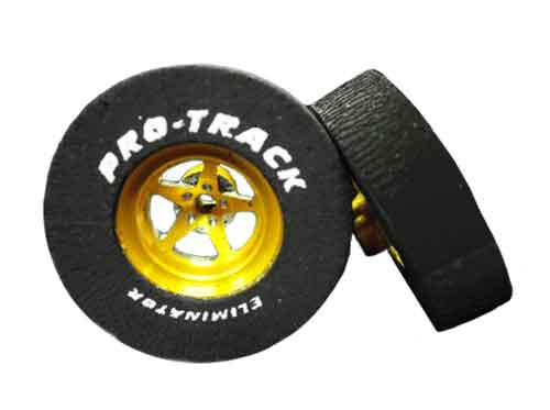 Pro-Track 1 1/16 x 3/32 x .300 wide Style I 3D - Gold - PTC-N401I3D-G