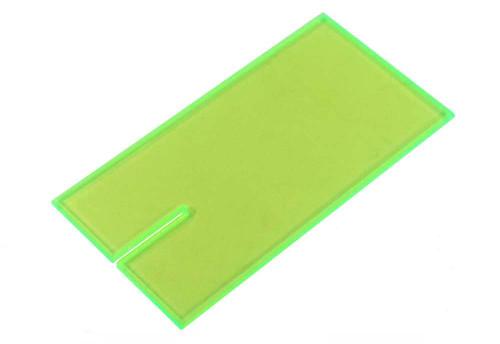 Lucky Bob's Acrylic Block  -  Green - LB-1003FG