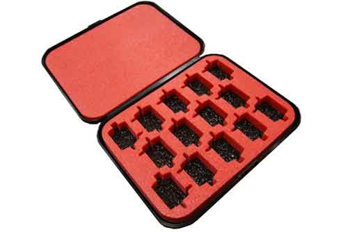 C-Can Size Motor Storage Case for 14 motors - WW-CCMB
