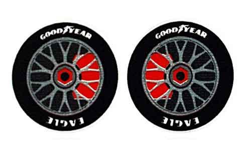"""JK 5/8"""" Front Wheel/Tire Stickers - 6 pr. - JKS35-3 / JK-20035"""