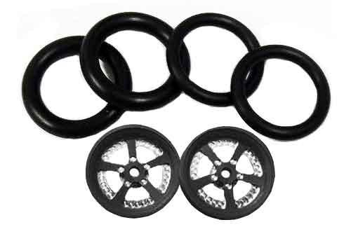 Pro-Track 3/4 x 1/16 x 1/8 wide Style K - Black - PTC-411K-BL