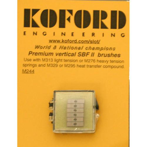 Koford Premium Vertical Brushes - 6 Pr. Pk. - KOF-M244