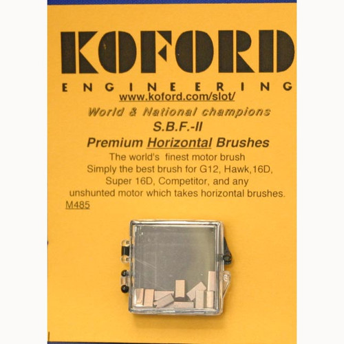 Koford SBF II Horizontal Brushes - KOF-M485