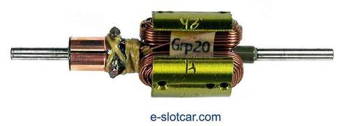 Proslot .510 Dia Group 20 Drag Armature 46° - PS-107-46H