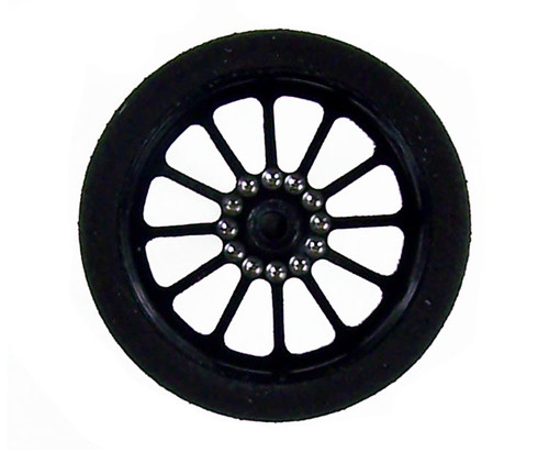 Pro-Track 3/4 x 1/16 x .250 wide Style E - Black - Aluminum - PTC-410E-BL