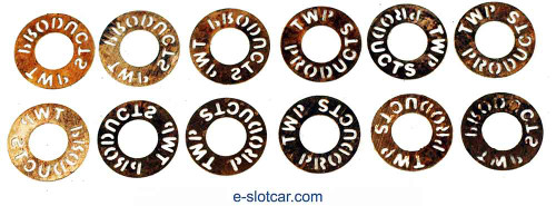 TWP .20mm Bronze Guide Washers - TWP-GSP-001