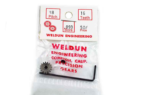 Weldun 16 Tooth Pinion - WLD-4816