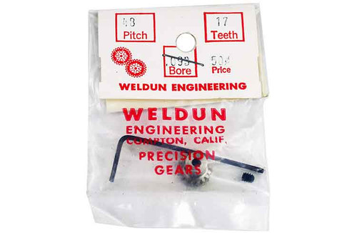 Weldun 17 Tooth Pinion - WLD-4817