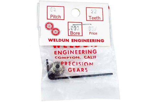 Weldun 22 Tooth Pinion - WLD-6422