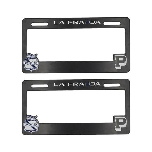 Club Puebla Porta placas