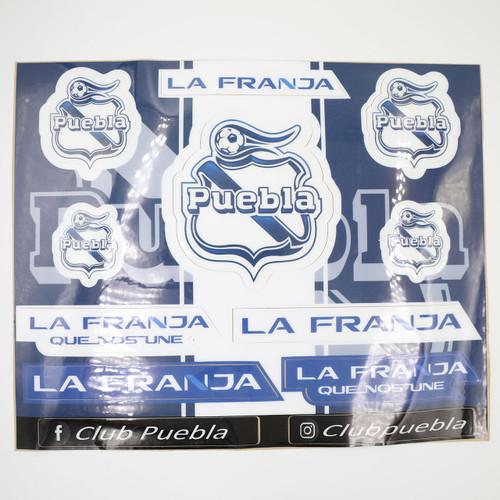 Club Puebla Plantilla de stickers