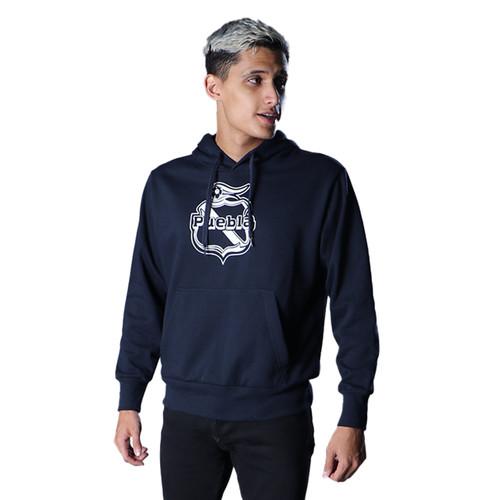 Club Puebla Hoodie azul marino con capucha