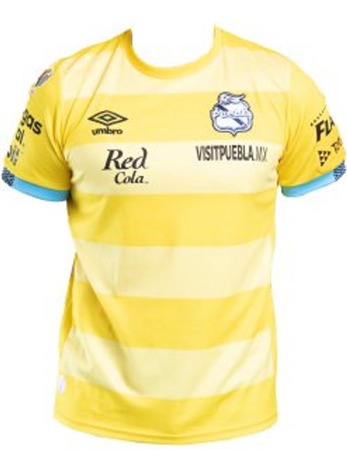 Club Puebla Umbro Portero Amarillo Caballero 21/22