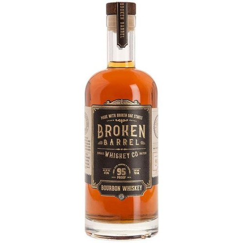 Broken Barrel Bourbon Whiskey 750ml