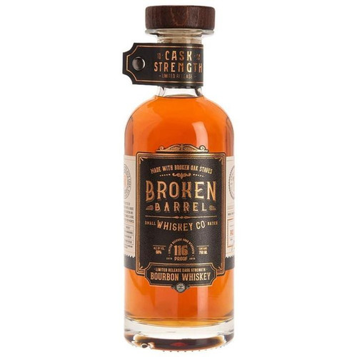 Broken Barrel Cask Strength Bourbon 750ML