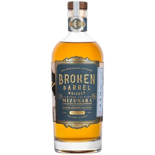 Broken Barrel Single Oak Mizunara 750ML