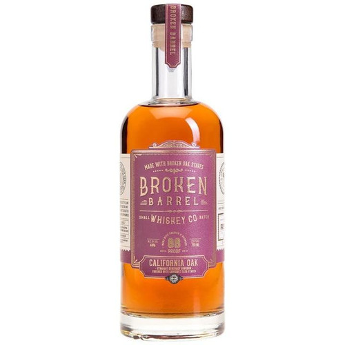 Broken Barrel California Oak Bourbon 750ML