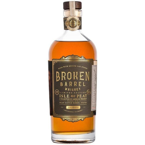 Broken Barrel Single Oak Isle of Peat 750ML
