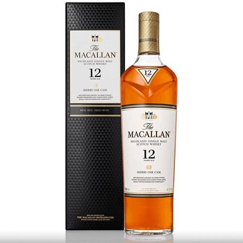 The Macallan 12 Year Old Sherry Oak 750ML