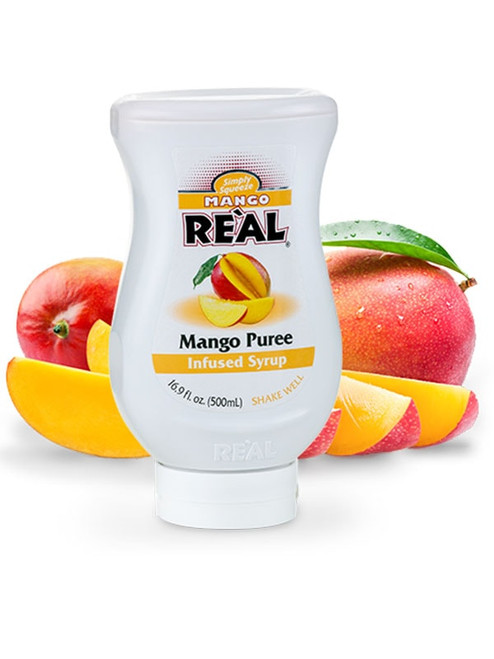 Mango Real Infused Syrup 16.9oz