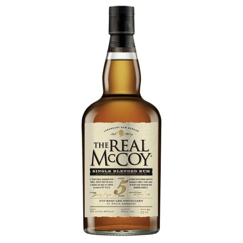 The Real McCoy 5 Year Aged Rum 750ML