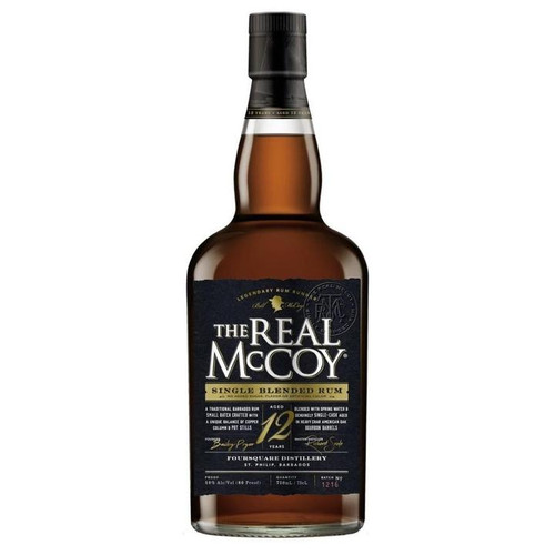 The Real McCoy 12 Year Aged Rum 750ML