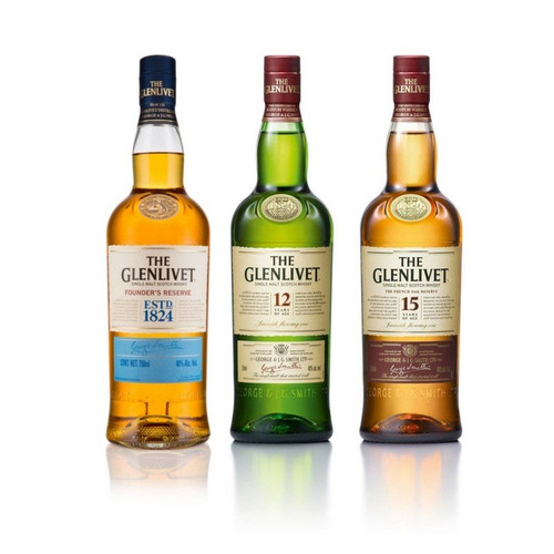 Glenlivet Legacy Collection Gift Set