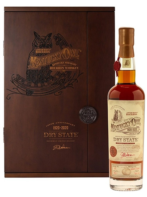 Kentucky Owl Dry State 100th Anniversary Edition