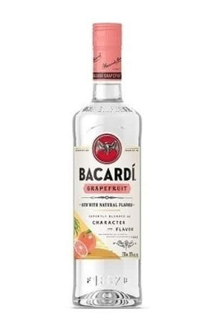 Bacardí Grapefruit Flavored White Rum 750ML