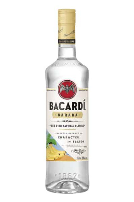 Bacardí Banana Flavored White Rum 750ML