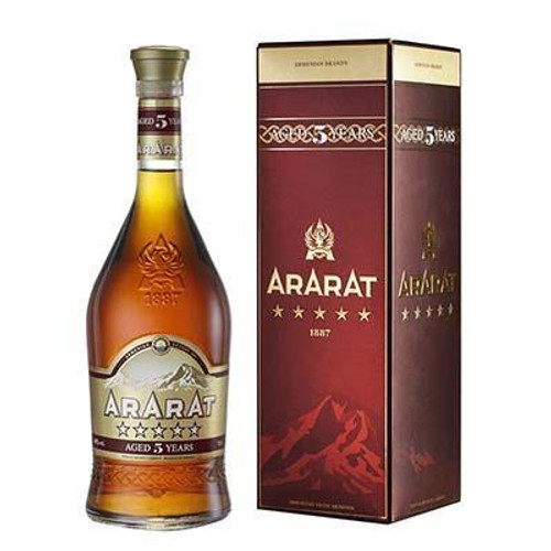 Ararat 5 Yr Armenian Brandy 750ml